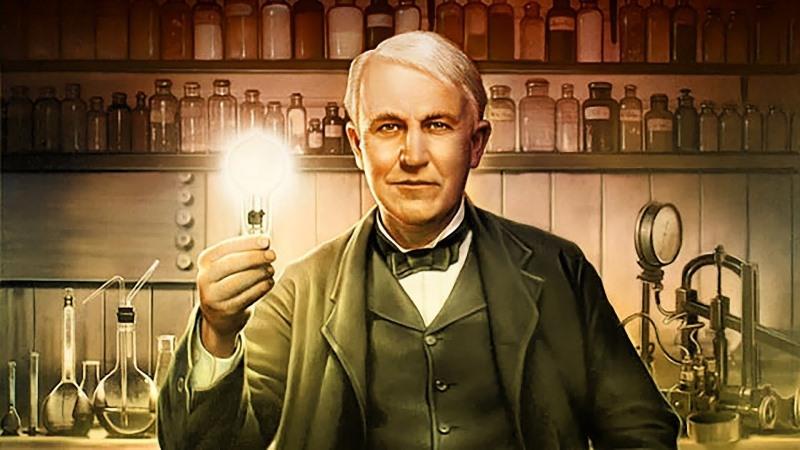 Αμερικανός εφευρέτης Thomas Edison