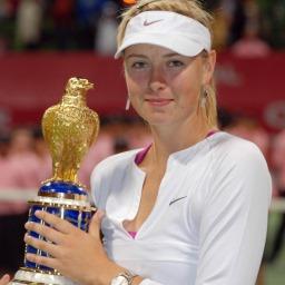 Η πρωταθλήτρια τένις Μαρία Σαραπόβα