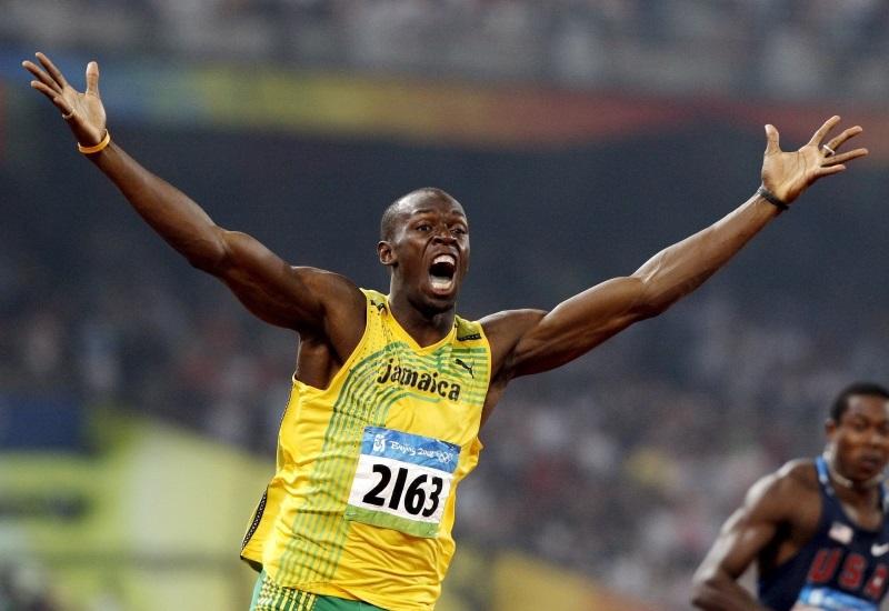 100m κάτοχος παγκόσμιου ρεκόρ, Usain Bolt (εικόνα 1)